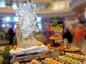 Bird Ice Sculpture