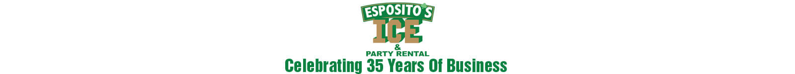 Esposito's Ice Celebrating 35 Years Banner